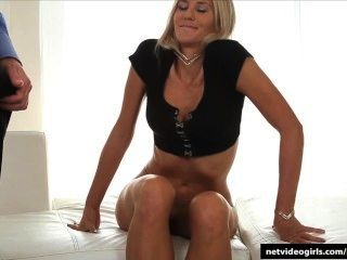 She Arrived On Time And Left Creampied