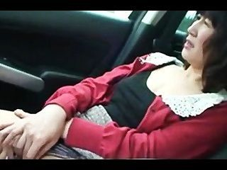 50 Years Old Asian Granny Gets Fucked Outdoor And Filled Inside.