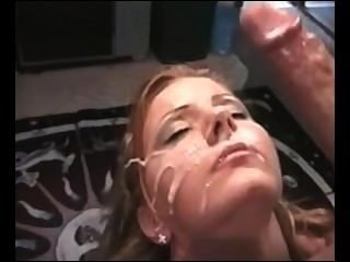 Ball Licking Leads To Facial!