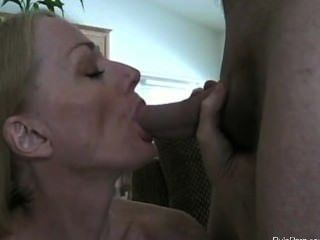 Milf Sucks And Get Facial